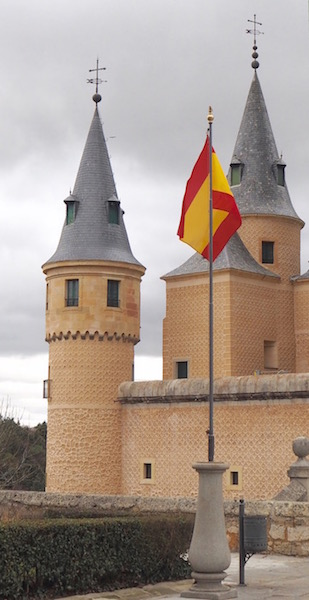 Segovia Palace, Segovia, Spain