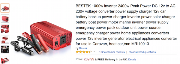 Inverters….. They're the future!