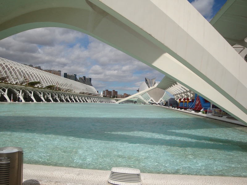 Modern Valencia, Spain