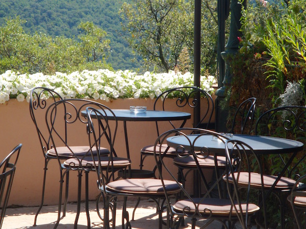 Cafe culture - Gassin, Provence, France
