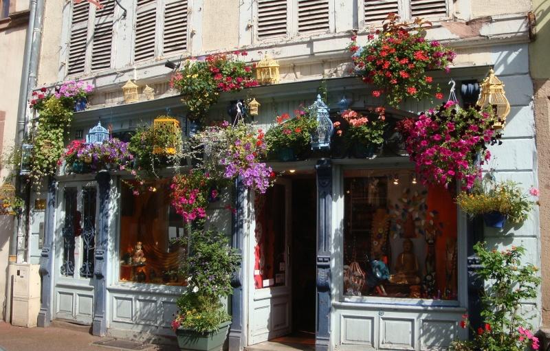 Colmar in bloom, Colmar, France
