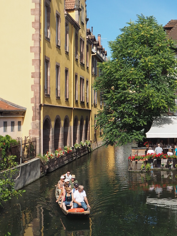 Colmar's canals, Colmar, France