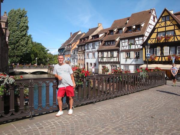 Colmar's little venice, Colmar, France