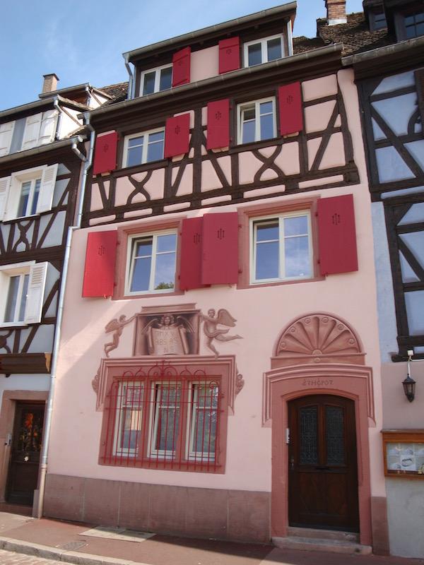 Colmar's murals, Colmar, France