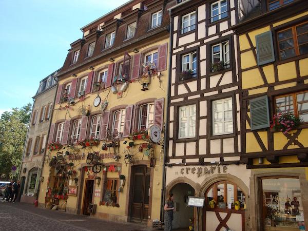 Colmar's shopfronts, Colmar, France