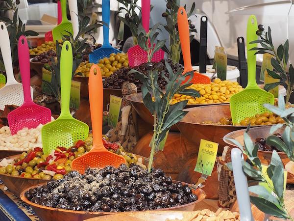 Cotignac market, Cotignac, France
