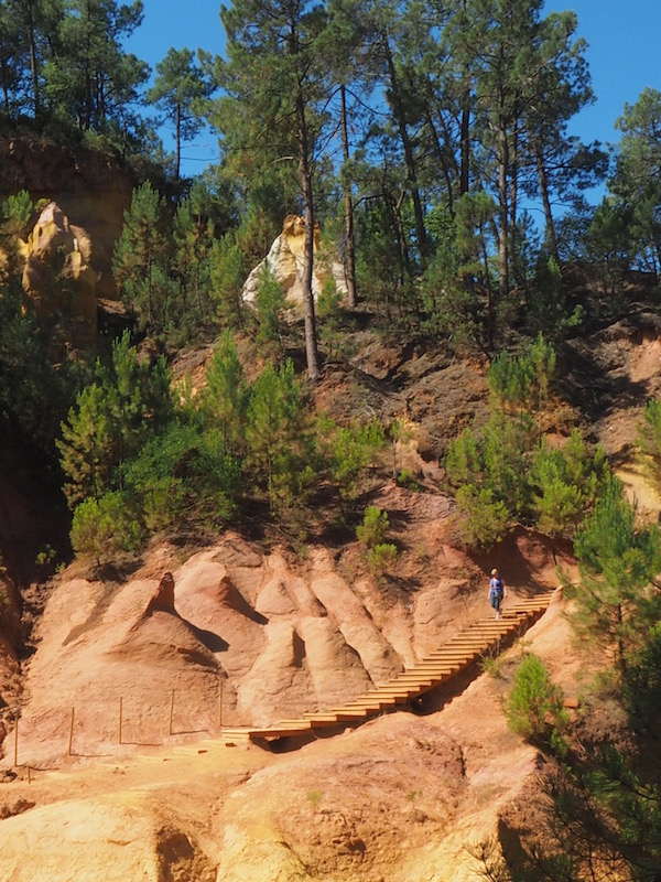 Mountains of Ochre, Rousillon, France