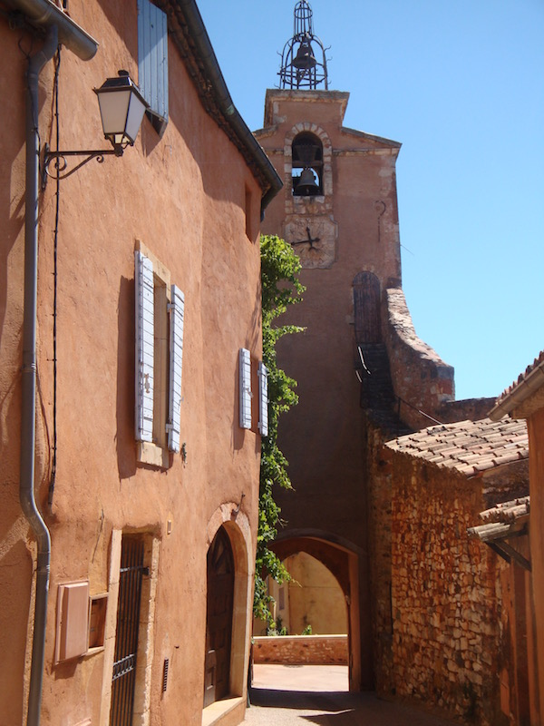 Rousillon - Ochre Village, France