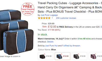 Packing Cubes- Man, Get some!