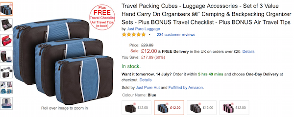 Packing Cubes- Man, Get some!