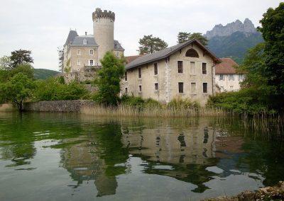 Duingt Chateau, Lac D'Annecy, France