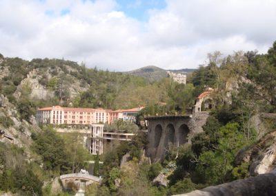 Molitg-les-bains, Pyrenees, France
