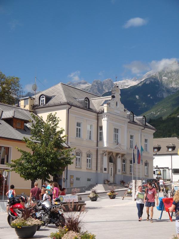 Kanal town hall, Slovenia