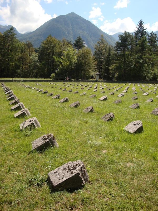 Boveč Military Cemetery, Slovenia