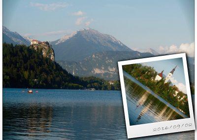 Lake Bled Castle and Church, Slovenia