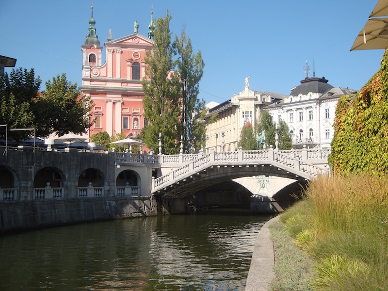 Ljubljana River, Slovenia