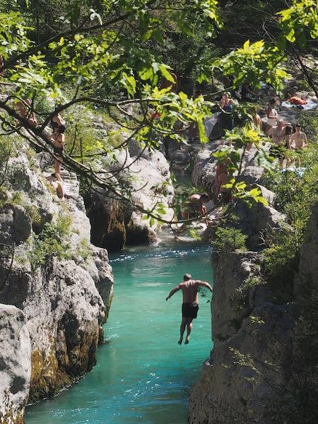 Soča Gorge , Slovenia