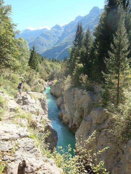 Soča gorge, Slovenia