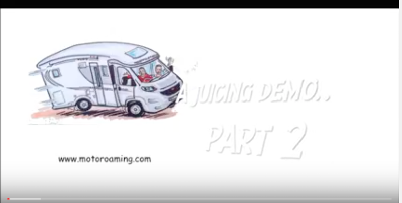 A motoroaming 'Juice demo' – Part 2