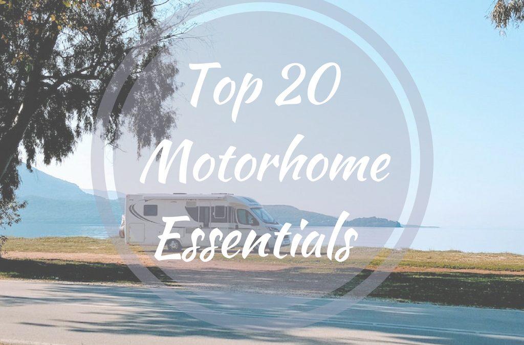 Top 20 Motorhome Essentials for Ladies