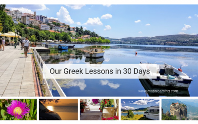 Our Greek lessons in 30 days!