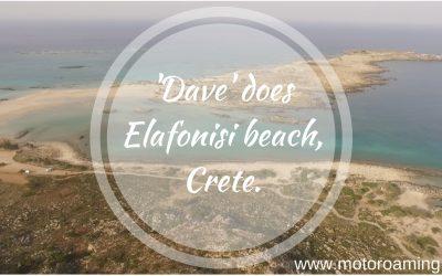 'Dave' does Elafonisi beach. Crete (by sunrise)