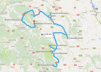 Monastery Tour Romania