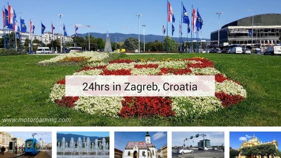 24hrs in Zagreb
