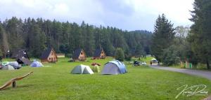 Camping Podlesok Paradise National Park.
