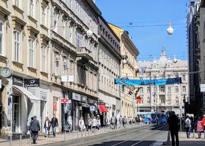 Iliac Street, Zagreb, Croatia