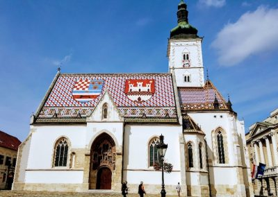 St Marks Church, Zagreb, Croatia