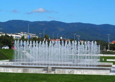 Zagreb Fountains, Zagreb, Croatia