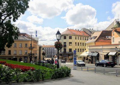 oldtown zagreb, Croatia