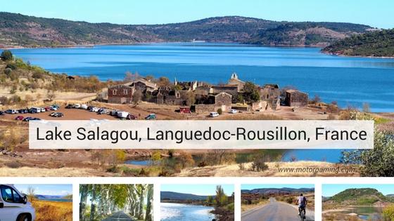 Lake Salagou, France