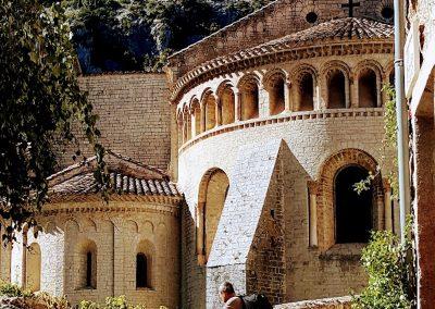 Saint Guilhem le Désert Castle, France