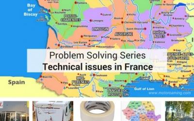 Camping-van Problem-solving en France