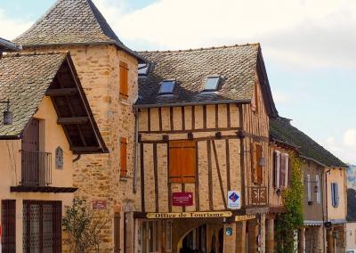 Najac, Aveyron, Midi Pyrenees, France
