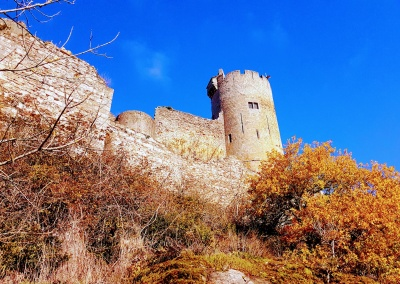 Najac Chateau, Najac, Aveyron, Midi-Pyrenees