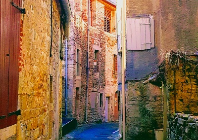 St Antonin, Aveyron, Midi Pyrenees, France