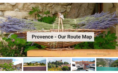 Provence – Route Map