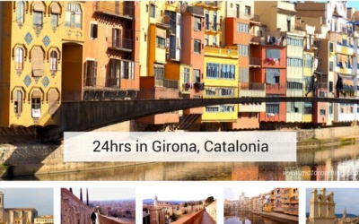24 hrs in Girona, Catalonia