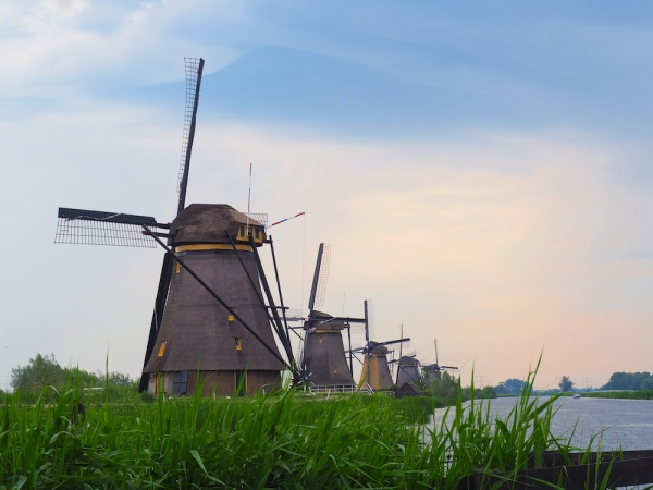 Kinderdijk UNESCO site, Holland