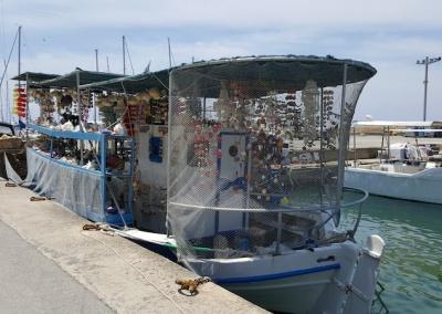 Sea sponge shop, Chania, Crete