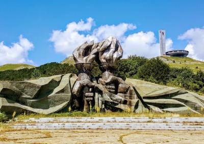 Buzludzha Monument,Shipka pass, Shipka, Bulgaria