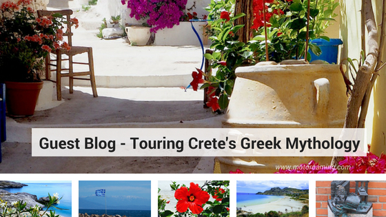 Combining Touring and Greek Mythology on Crete