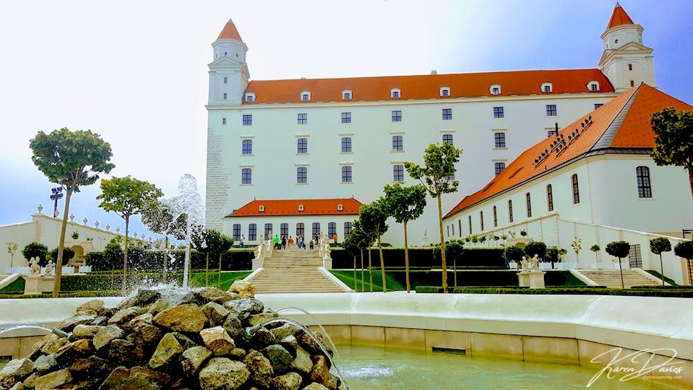 Bratislava Castle grounds, Bratislava, Slovakia