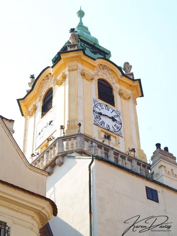 Bratislava Clock Tower, Bratislava, Slovakia