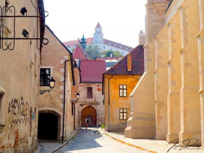 Bratislava Old Town and Castle, Bratislava, Slovakia