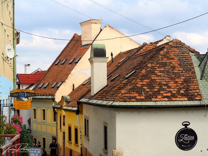 Bratislava Old Town Roof lines, Bratislava, Slovakia
