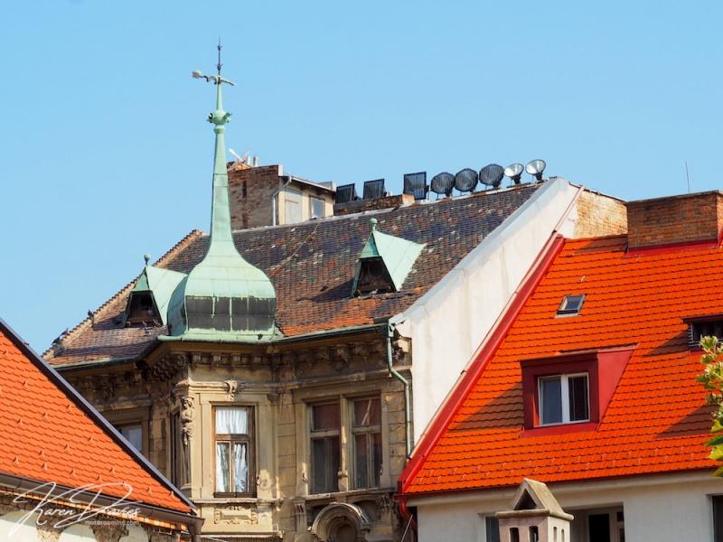 Bratislava Rooflines, Bratislava, Slovakia